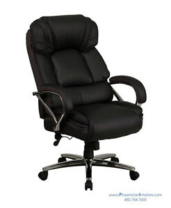 Big And Tall Executive Desk Office Conference Chair 500 Lbs Weight Capacity