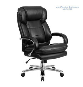 Big And Tall Extra Large Desk Office Chair 500 Lbs Weight Capacity