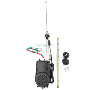 Car Suv Auto Am Fm Radio Electric Power Automatic Antenna Aerial Kits Universal