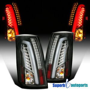 For 2003 2007 Cadillac Led Bar Cts Black Tail Brake Lights