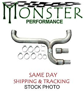Dual Stainless Stack Install Kit Fits 3 5 4 5 Exhaust Monster Std005