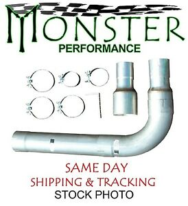 Single Stainless Stack Install Kit Fits 3 5 4 5 Exhaust Monster Std006