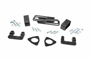 Rough Country 2 5 Suspension Leveling Kit Silverado Sierra 1500 2wd 4wd 1305