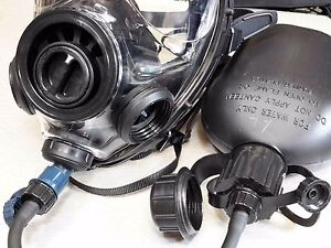 Sge 400 3 Gas Mask With Drinking Option canteen Cbrn Nbc Filter Exp 12 2022