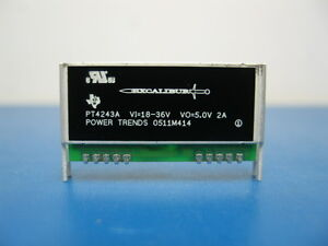 Power Trends Pt4243a Isolated Dc dc Converter By Texas Instruments