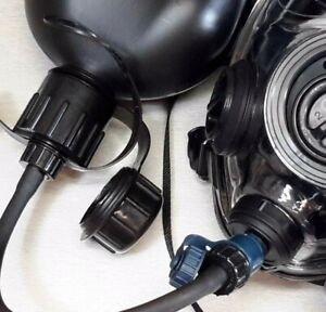 Sge 400 3 Bb Gas Mask W Drink Cbrn Nbc Protection New Made In 2019