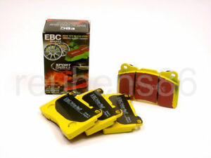 Ebc Yellowstuff High Friction Performance Brake Pads Street Track Front Dp41636r