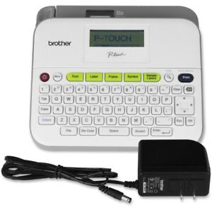 Brother P touch Pt d400ad Desktop Labelmaker Thermal Transfer Monochrome