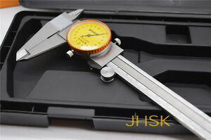 Dial Caliper With 8 Inches Measuring Range Stainless Steel 0 200mm High Quality