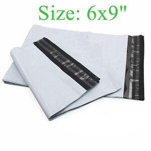 6x9 Poly Mailers Shipping Envelopes Plastic Bags 2 35 Mil 50 100 300 500 1000