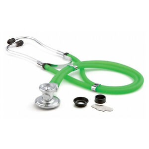 Adc 641fkw Sprague Rappaport Stethoscope Frosted Kiwi Latex Free