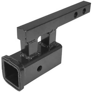 Titan 1 25 To 2 Rise Or Drop Trailer Hitch Towing Extension Adapter