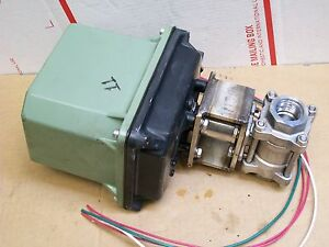 Electripowr Electric Rotary Valve Actuators Mar9 10 115v 1 Stainless Valve