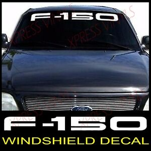 Ford F 150 Windshield Window Vinyl Decal Sticker Truck