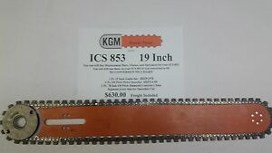 Ics 853 19 Inch Guide Bar Concrete Chain And Sprocket