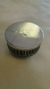 New K N Rc 0170 Round Straight Universal Chrome Intake Air Filter Cleaner