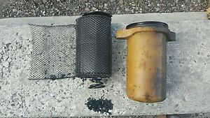 Old Vintage Cummins Motor Engine Oil Filter Housing Hs Nhs 6 1f Iron Lung 220