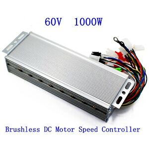 60v 1000w Electric Bicycle E bike Scooter Brushless Dc Motor Speed Controller