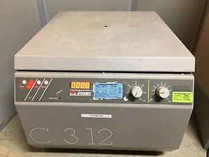 Jouan C312 Benchtop Centrifuge W Rotor Buckets And Inserts Free Shipping