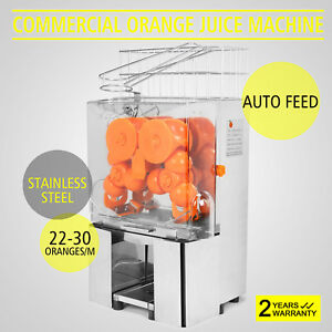 Commercial Orange Juice Squeezer Machine Lemon Fruit Stainless Juicer Extractor