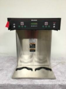 Bunn Icb Twin Refurb Dual Commercial Airpot Coffee Brewer Contact 4 Shipping