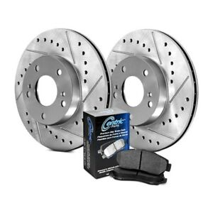 For Subaru Legacy 07 09 Stoptech Select Sport Drilled Slotted Rear Brake Kit