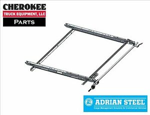 Adrian Steel 61 glftl Single Grip Lock Ladder Rack For Ford Transit Low Roof
