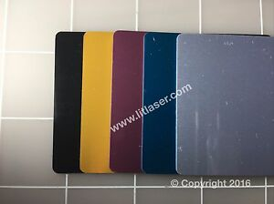 new Blank Metal Business Cards 100pcs Laser Engraveable Thick new
