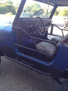 1987 2006 Jeep Wrangler Tj Yj Doors A Pair Tubular Door