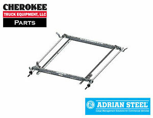 Adrian Steel 63 glftl2 Double Grip Lock Ladder Rack For Ford Transit Low Roof