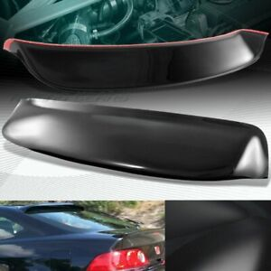 Black Abs Plastic Rear Window Roof Visor Spoiler Wing 02 06 Acura Rsx Dc5