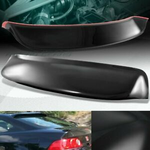 For Acura Rsx Dc5 Type s Black Abs Plastic Rear Window Roof Visor Spoiler Wing
