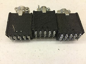 3x Beau Cinch P315cct Jones 15 Pin Plug 38331 5615 Connector Cable Clamp Top