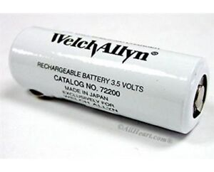 Genuine Welch Allyn Brand 72200 3 5v Battery For Welch Allyn 71000
