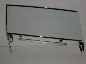 61 Buick Cadillac Chev Olds Pontiac 2 Dr Hardtop Clear Left Door Glass Assembled