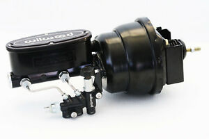 62 67 Chevy Ii Nova Wilwood Master Cylinder Black 8 Brake Booster