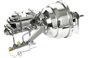 67 69 70 81 Camaro Chrome 8 Booster W Master Cylinder And Proportioning Valve