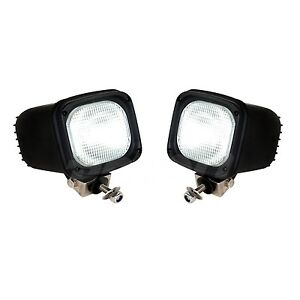 2pcs 12v 55w Xenon Hid Work Light Flood Beam Atv Lamp Truck Boat Driving Fog Suv
