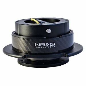 Nrg 6 hole Universal Gen 2 5 Quick Release Kit Black Body Carbon Fiber Ring