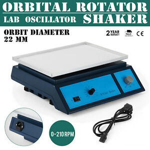 Lab Oscillator Orbital Rotator Shaker 22mm Orbit Diameter Destaining Equipment