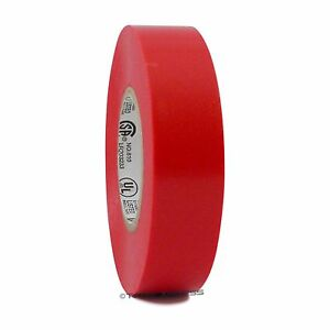 1 Roll Red Vinyl Pvc Electrical Tape 3 4 X 66 Flame Retardant Free Shipping
