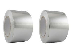 2 Rolls Aluminum Foil Tape 3 X 150 With Liner Malleable Foil Free Shipping
