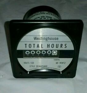 Weschler Instruments Westinghouse Bh 351 Total Hours Meter