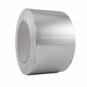 1 Roll Aluminum Foil Tape 3 X 150 With Liner Malleable Foil Free Shipping