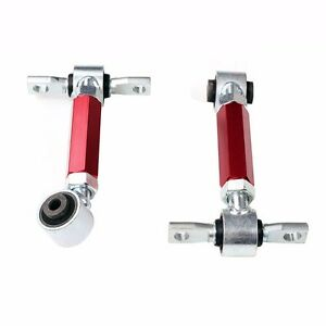 Red For 92 95 96 00 Honda Civic Eg Ek Racing Suspension Rear Upper Camber Kit