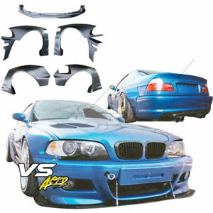 Vsaero Frp Tkyo Bunny Wide Body Kit 7pc 2dr Coupe Fits Bmw 3 Series 325ci 3