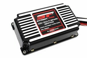 Black Msd Street Fire Digital Ignition Box W Built in Rev Limiter 5520