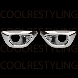 For Jeep Grand Cherokee 2014 2016 Chrome Front Fog Lamp Cover