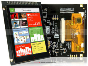 3 5 Tft Lcd Display W capacitive Touch Panel Screen breakout Board tutorial
