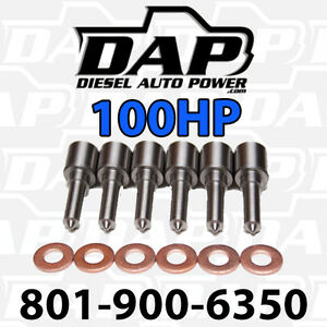 6 100hp Nozzles Fits Dodge Cummins Diesel 1998 2002 Injectors Vp44 100 Hp